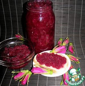 Рецепт Варенье из лепестков шиповника
