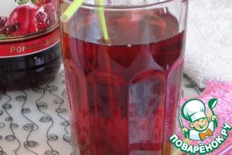 Рецепт: Гранатовый чай