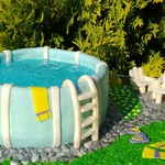 Торт Бассейн