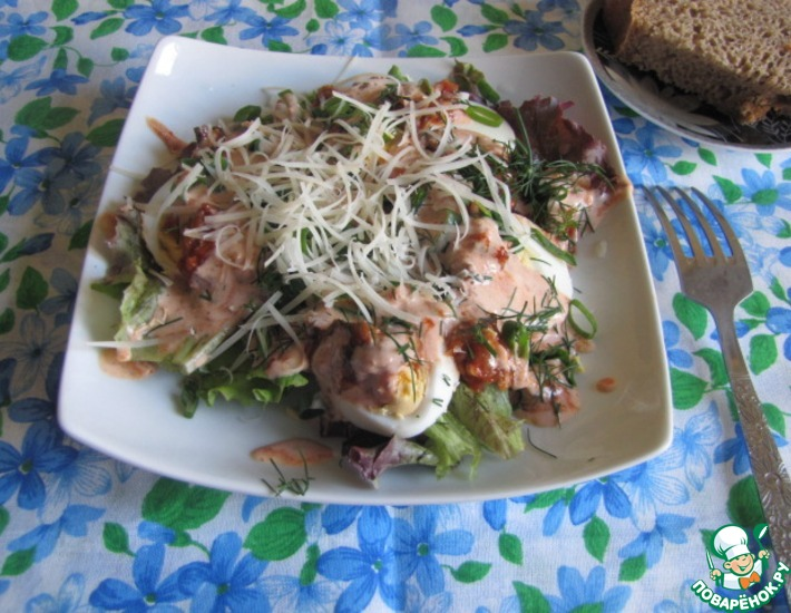 Рецепт: Дачный салат