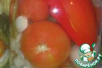 Рецепт: Овощное ассорти