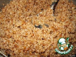 Boil buckwheat or chaff. Chaff even better.