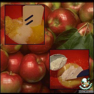 Петербургский яблочный пудинг