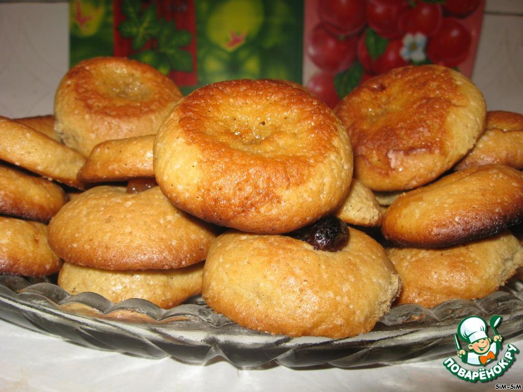 Кофейное печенье с медом