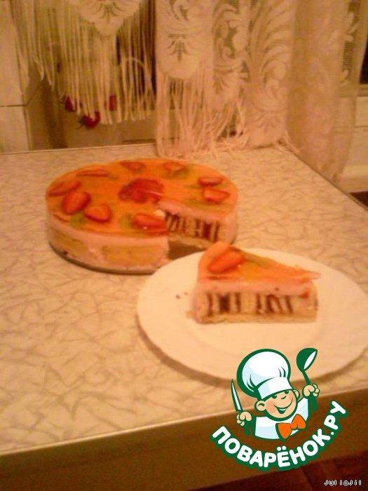 Фруктовый торт Экзотика