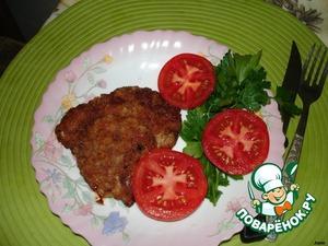 On the side serve of vegetables.
