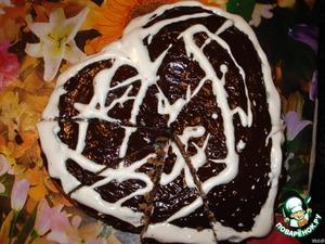 """Кекс """"Шоколадное сердце"""" – кулинарный рецепт"""