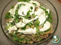 Салат с грибами и ветчиной ингредиенты