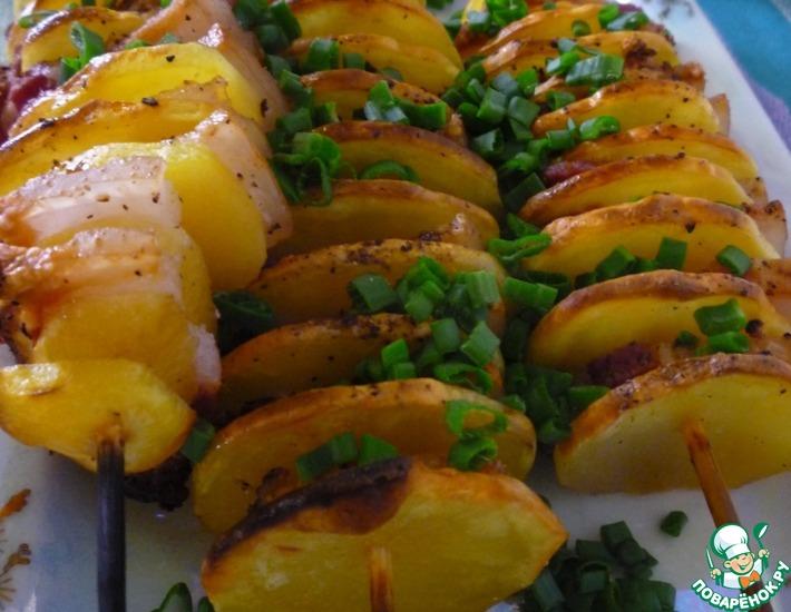 Рецепт: Картофельный кебаб