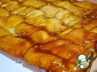 Косички с орехами в карамельно-медовом соусе ингредиенты