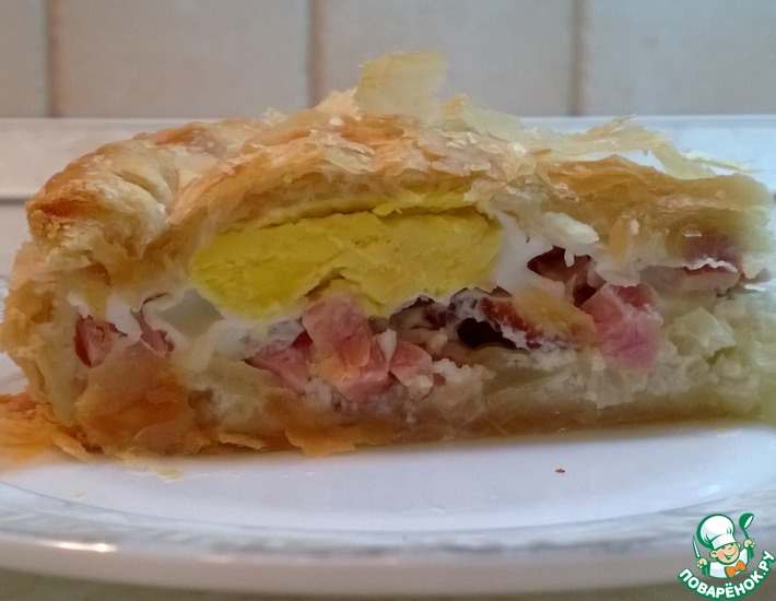 Рецепт: Деревенский пирог
