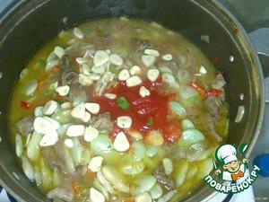 Жаркое из баранины с фасолью гигантес – кулинарный рецепт