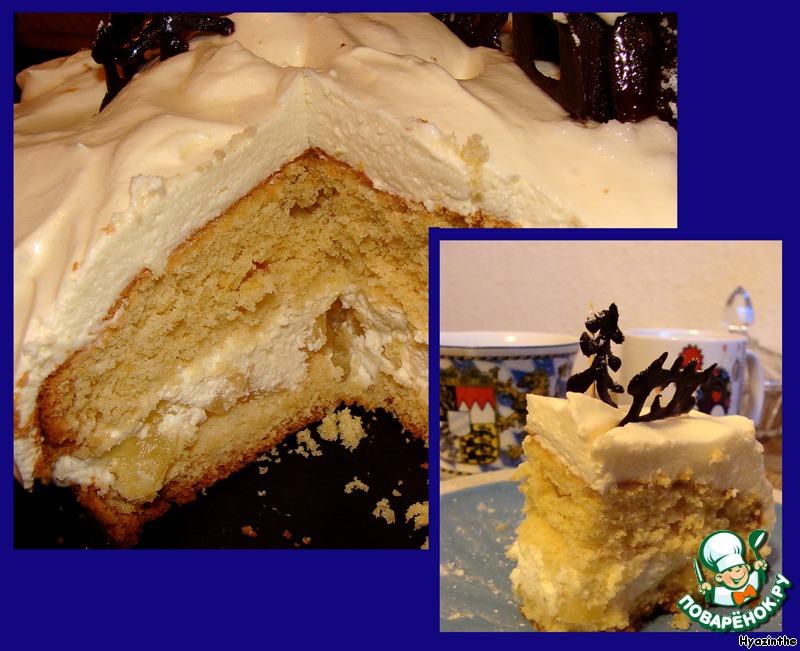 Торт Снежный парадиз
