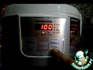 Рецепт Бисквит какао-молочный в мультиварке