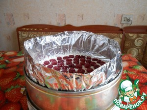 """Торт """"Вишенка в заливке"""" – кулинарный рецепт"""