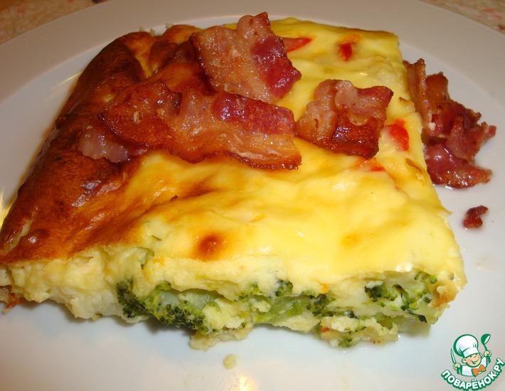 Рецепт: Запеканка из брокколи с сыром
