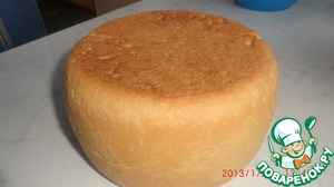 White bread in a slow cooker