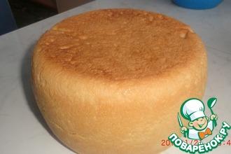 Рецепт: Белый хлеб в мультиварке