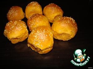 Томатный хлеб с рисунком – кулинарный рецепт