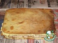 Закусочный торт Рыбный Наполеон ингредиенты