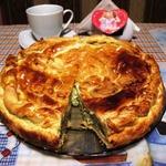 Пирог со шпинатом по-гречески Спанакопита