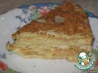 Торт Наполеон классический ингредиенты