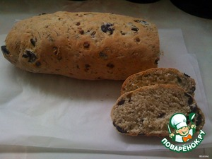 Send in the oven oven to reddish brown.  Bread is very flavorful and hearty.
