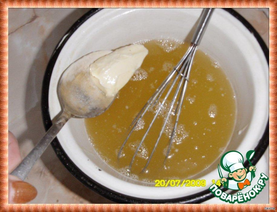 Слоeный медовый торт  (Leyered Honey Cake)