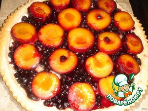 Bake in a preheated 200 degree oven until the dough will not rise and the berries are soft and will not give juice.