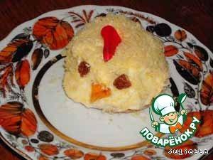Пирожные Цыплята