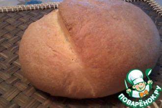 Рецепт: Хлеб Паляница