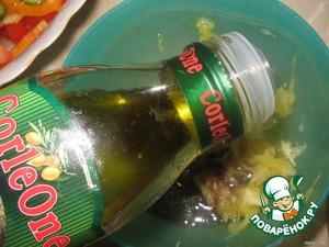 И 2 столовые ложки оливкового масла.