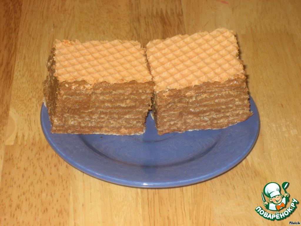 """Вафельный торт """"Вкусняшка"""""""