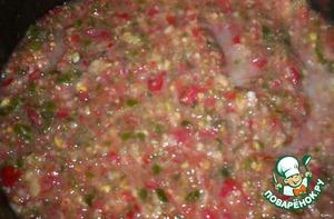 This mixture bring to boil, add salt.