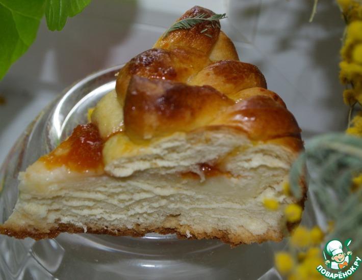 пирог со сливочным сыром
