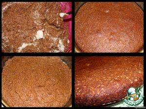 Включить духовку на 160-170*С.      Добавить в тесто оставшиеся взбитые белки и ложкой, мешая снизу вверх, аккуратно их смешать (однородности добиваться не надо!)   Тесто выливаем в форму, застеленную пекарской бумагой,   выпекаем 50 минут при 160-170*С.      Остужаем в форме, затем вынимаем.