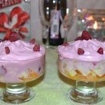 Фруктово-ягодный десерт Искушение