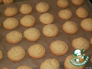 """Печенье """"Тающие моменты"""" – кулинарный рецепт"""