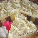 Торт Праздничный с вертикальными полосками