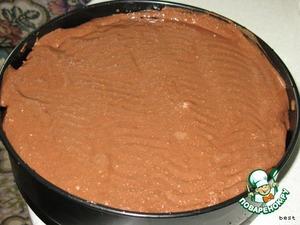 Выложить крем на торт и поставить в холодильник на 3-4 часа, чтобы крем застыл.