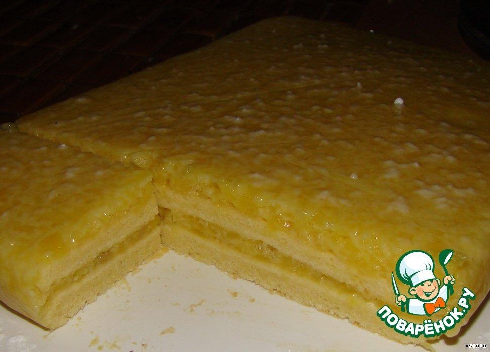 Пирожное Манго