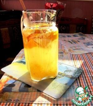 "Греческий имбирный квас ""Дзидзибира"" – кулинарный рецепт"