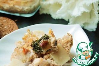Рецепт: Курица с имбирной ноткой
