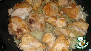 Курица в сметане – кулинарный рецепт