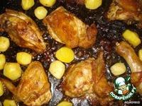 Картофельные носики с курицей ингредиенты