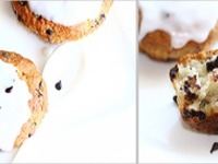 Творожно-банановые кексы с шоколадными чипсами ингредиенты