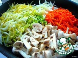 Овощи для первой начинки