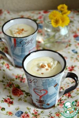 Рецепт Горячий напиток из белого шоколада и орехов