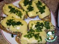 Бутерброды с тунцом и сыром ингредиенты