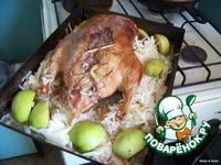 Утка с антоновскими яблоками и капустой ингредиенты